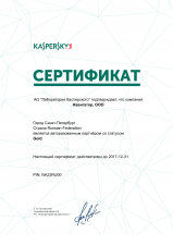 Business Partner Kaspersky