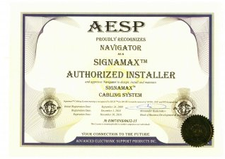 SIGNAMAX Authorized Installer