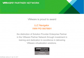 VMware | Enterprise Solution Provider